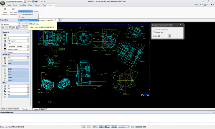 SOLIDWORKS PDM and DraftSight: Streamline your Design Process and Save Time