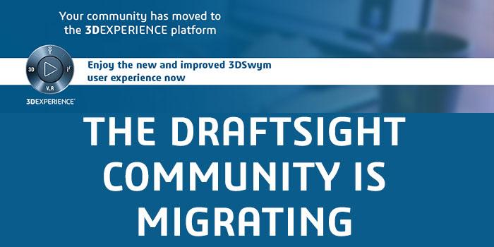 DraftSight SwYm Community Migration
