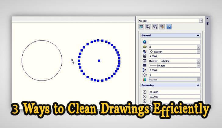 3 Ways to Clean Drawings Efficiently