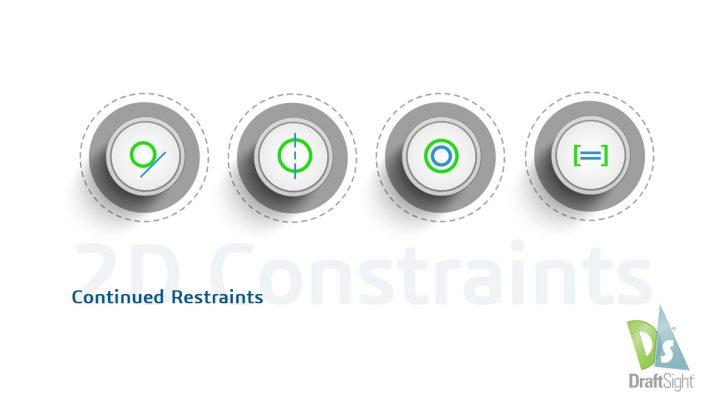DraftSight: 2D Constraints, Continued Restraints