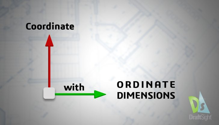 DraftSight: Coordinate with Ordinate Dimensions