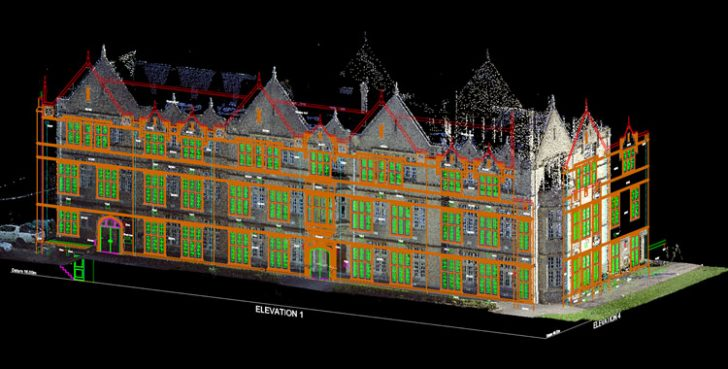 Working with massive 3D point cloud data inside DraftSight