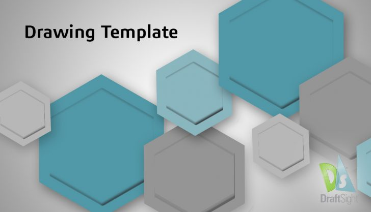 DraftSight Drawing Template