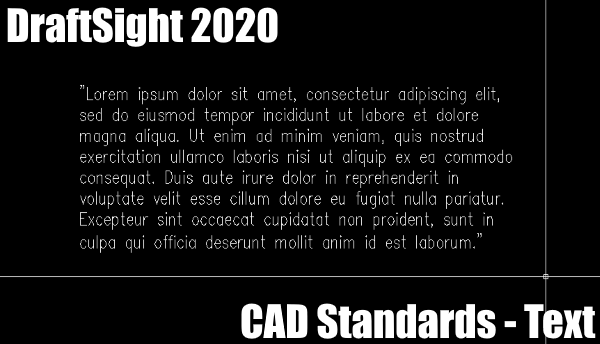 CAD Standards – Text