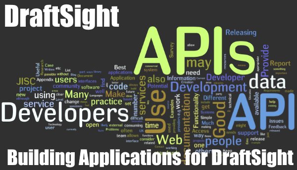 Building Applications for DraftSight