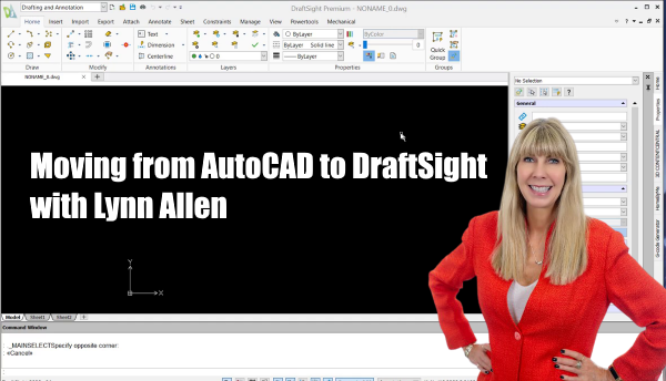 Moving from AutoCAD to DraftSight with Lynn Allen
