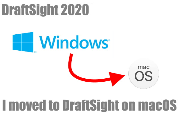 I moved to DraftSight on macOS